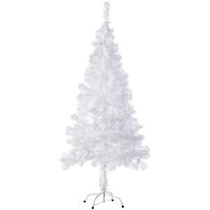 Künstlicher Weihnachtsbaum 150 cm 310 Spitzen weiss