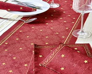 Kokett®  1 Rolle Weihnachts-Tischläufer