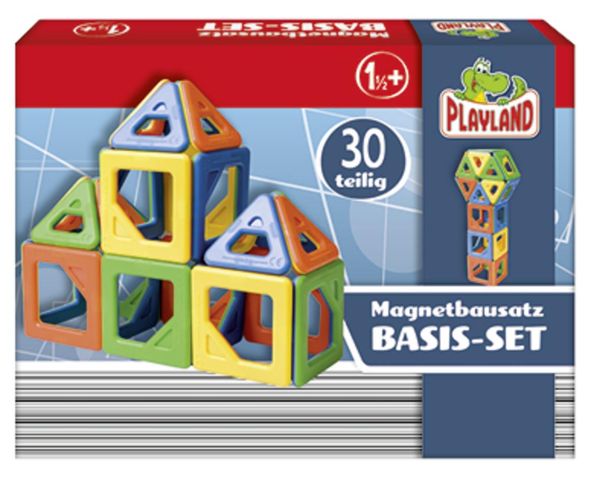 Bild 1 von PLAYLAND Magnet-Bauset