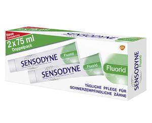 Sensodyne®  Zahncreme Doppelpack