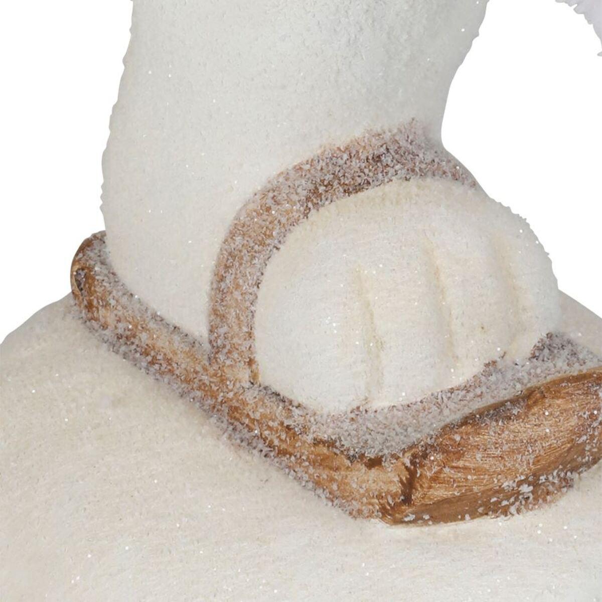 Bild 4 von Magnesia-Figur Eisbär auf Schlittschuhen 44x39x21cm