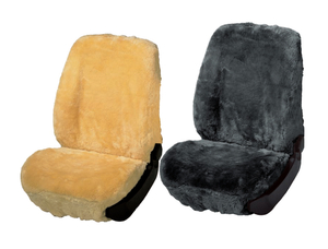 Sitzbezüge Lammfell in verschiedenen Farben - je 1 Stück Walser