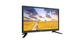 Camping LED TV mit DVB-S2 HD, DVB C und DVB-T2 Tuner mit HEVC / H.265 OPTICUM