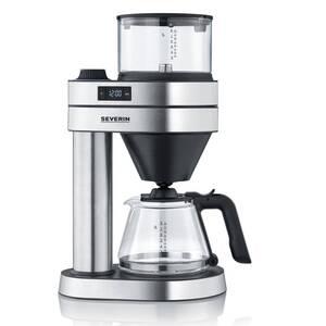Kaffeemaschine Caprice, KA 5760, Silberfarben/ Schwarz + Gratis dazu: 2 Thermobecher, Edelstahl, 360 ml