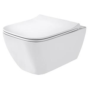 Geberit Spülrandloses Wand-WC-Set Smyle Square