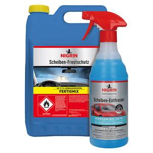 Nigrin Scheibenfrostschutz-Mittel + Scheiben-Entfroster 0,6 ml