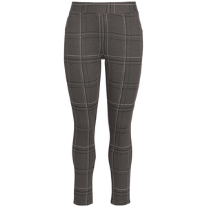 Damen Jeggings mit Karo-Dessin