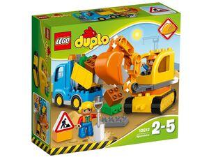 LEGO® DUPLO® 10812 Bagger & Lastwagen