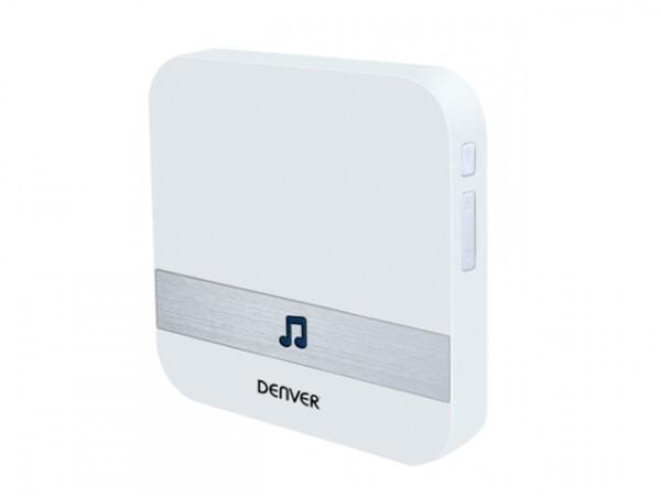 Denver Video Türsprechanlage VBD-110 ,  WLAN silber weiß