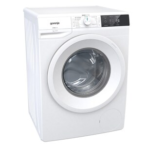 W10E743P Stand-Waschmaschine-Frontlader weiß / A+++