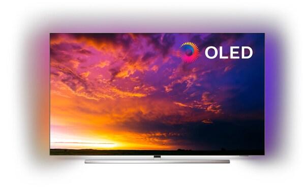 "65OLED854/12 164 cm (65"") OLED-TV Bezel chrome / B"