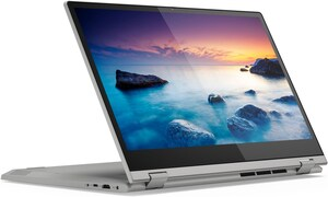 "IdeaPad C340-15IIL (81XJ000RGE) 39,6 cm (15,6"") 2 in 1 Convertible-Notebook platinum"