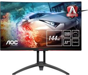 "AG322QC4 80 cm (31,5"") Gaming Monitor schwarz/silber / B"