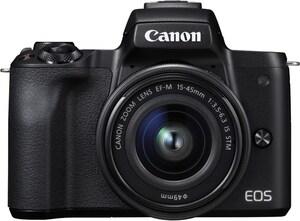 EOS M50 Kit (15-45mm EF-M) Digitale Systemkamera schwarz