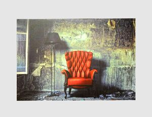 Bild Der rote Sessel