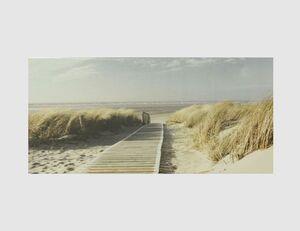 Bild Ein Weg durch Strand Dünen