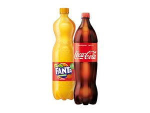 Fanta/Coca-Cola/Mezzo Mix