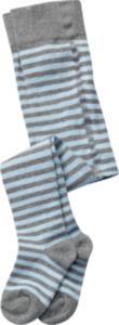 ALANA Baby Strumpfhose, Gr. 74/80, in Bio-Baumwolle und Elasthan, grau, blau, für Mädchen und Jungen