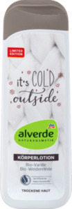 alverde NATURKOSMETIK It's cold outside Bodylotion (Bio-Weidenrinde, Bio-Vanille)