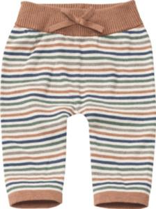 ALANA Baby Hose, Gr. 68, in Bio-Baumwolle, geringelt, für Mädchen und Jungen