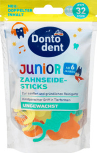 Dontodent Zahnseide-Sticks Junior