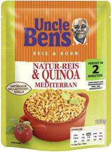 Uncle Ben´s Reis & Korn Natur-Reis & Quinoa Mediterran 2 Minuten 220g