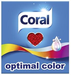 Coral Optimal Color Waschpulver 1,4 kg 20 WL