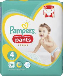 Pampers Premium Protection Pants Gr. 4 9-15 kg 19 Stück