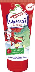 Tabaluga Malseife für Kinder rot mit süßem Himbeerduft 75 ml