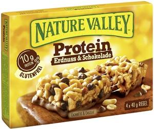 Nature Valley Protein Erdnuss & Schokolade Riegel 4x 40 g