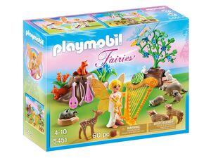Playmobil Harfenfee beim Waldkonzert