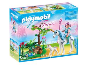 Playmobil Fee Aquarell auf der Einhorn-Lichtung (5450)