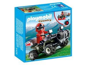 Playmobil Bergrettungs-Quad