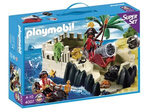 Playmobil SuperSet Piratenfestung