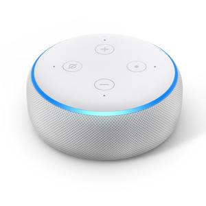 Amazon Echo Dot 3. Generation Smart-Speaker mit Alexa, Sandstein Stoff