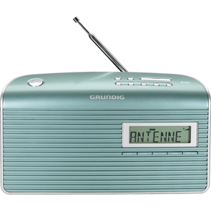 Grundig Music 7000 DAB+ mint/silber (LCD-Display, 10 Stationsspeicher)