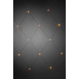 Konstsmide              LED-Lichternetz, 32 Dioden, bernsteinfarben, mit Außentrafo