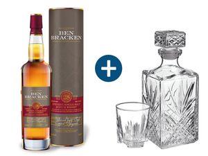 Set Ben Bracken 28YO + Whiskyset gratis dazu