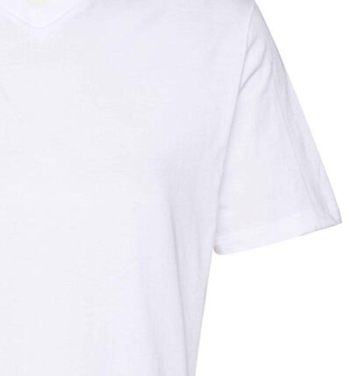 """Bild 3 von Schiesser Herren American T-Shirt """"008151-100"""", 2er-Pack, weiß, 3XL"""