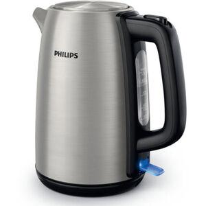 Philips Wasserkocher HD9351/90, edelstahl/schwarz