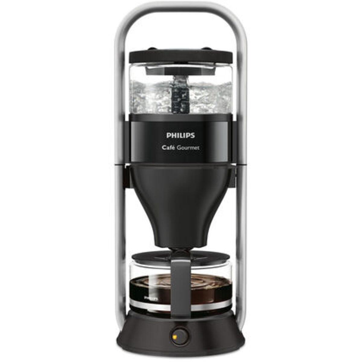 Bild 1 von Philips Kaffeeautomat Café Gourmet HD5408/60, schwarz/silber