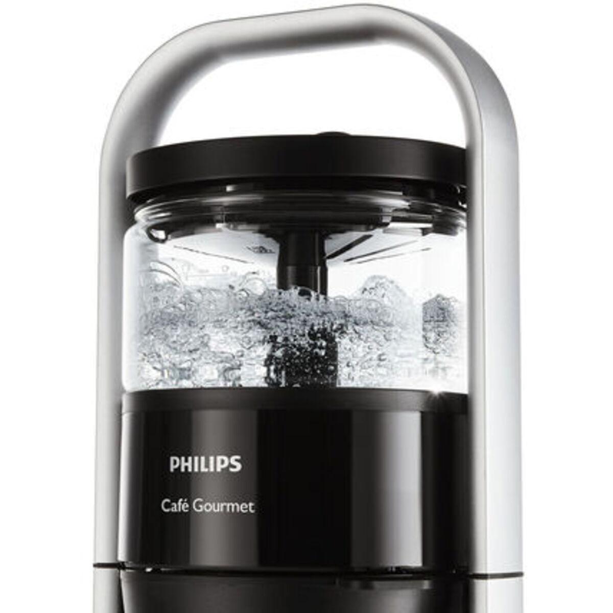 Bild 4 von Philips Kaffeeautomat Café Gourmet HD5408/60, schwarz/silber