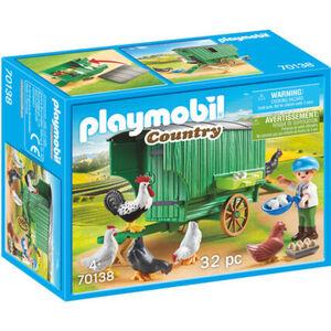 PLAYMOBIL® Country - Mobiles Hühnerhaus 70138