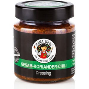 Mama Wong Dressing Sesam-Koriander-Chili, 200 ml