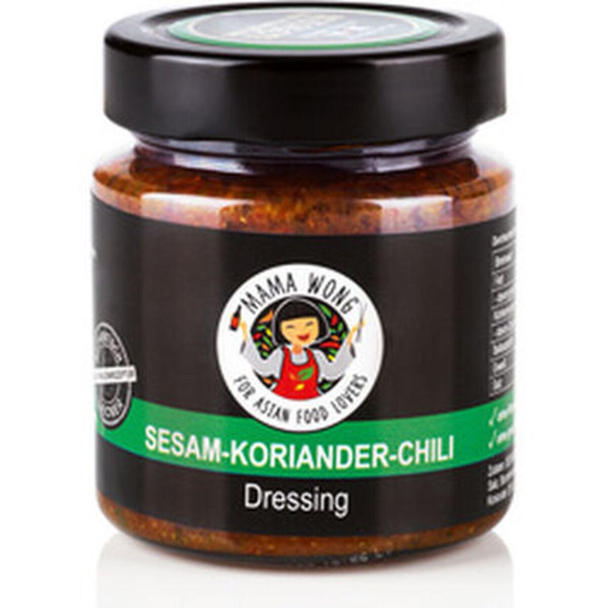 Bild 1 von Mama Wong Dressing Sesam-Koriander-Chili, 200 ml