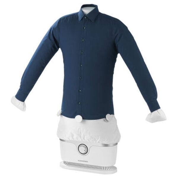 Cleanmaxx Bügler für Hemden und Blusen, silber / weiß