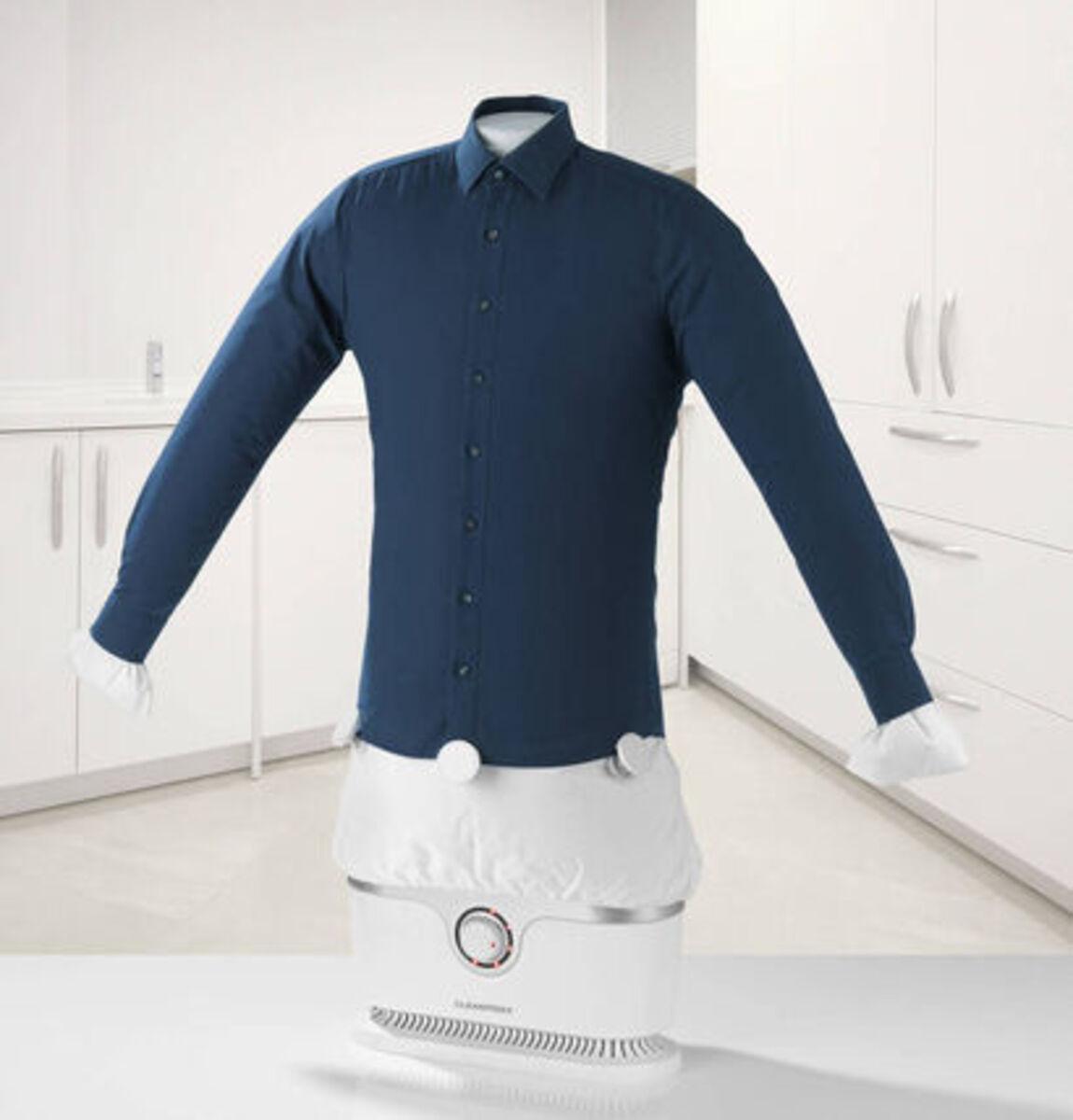 Bild 2 von Cleanmaxx Bügler für Hemden und Blusen, silber / weiß