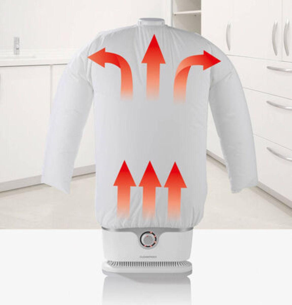 Bild 4 von Cleanmaxx Bügler für Hemden und Blusen, silber / weiß