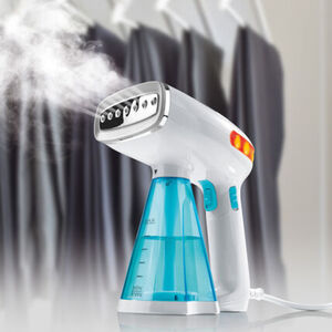 Cleanmaxx Dampfglätter, türkis/weiß