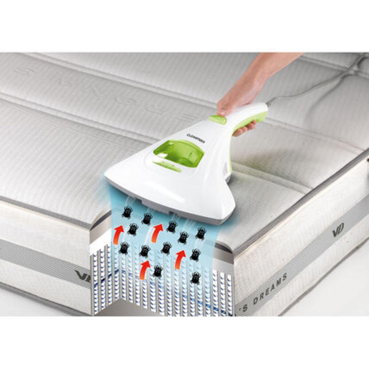 Bild 3 von Cleanmaxx Milben-Handstaubsauger, weiß/limegreen